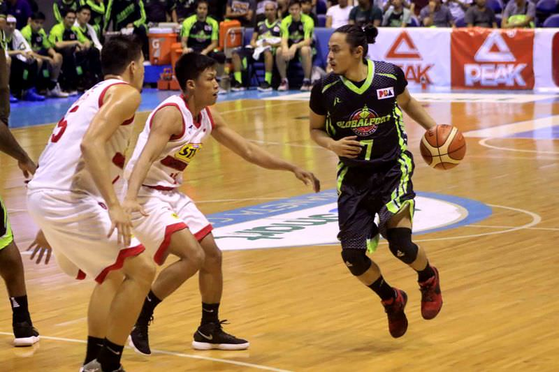 Terence Romeo of GlobalPort Batang Pier (photo by Peter Paul Baltazar)