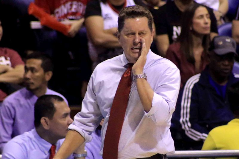 Ginebra coach Tim Cone (photo by Peter Paul Baltazar)