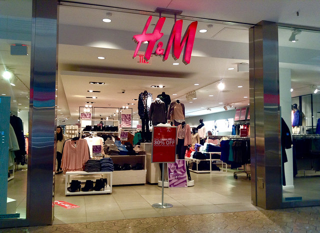 H&M (photo by Mike Mozart/ Flickr)