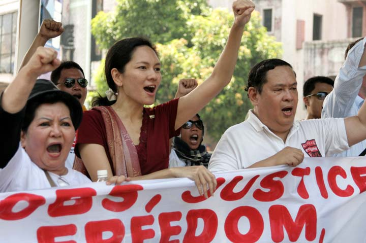 Risa Hontiveros (photo by Kara Santos/ Flickr)