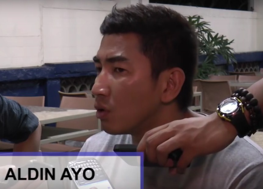 Aldin Ayo (YouTube screen capture | Manila Bulletin Online)