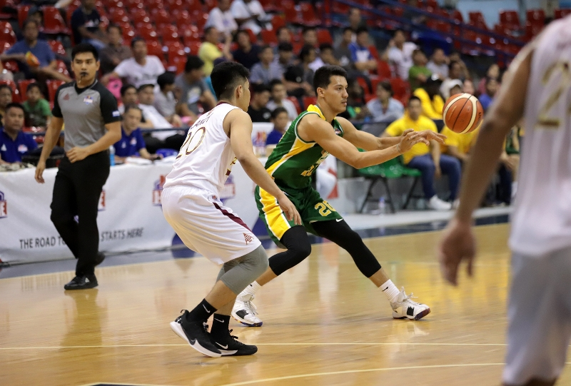 Kenneth Tuffin vs Ramlee Lanoy (PBA Images)