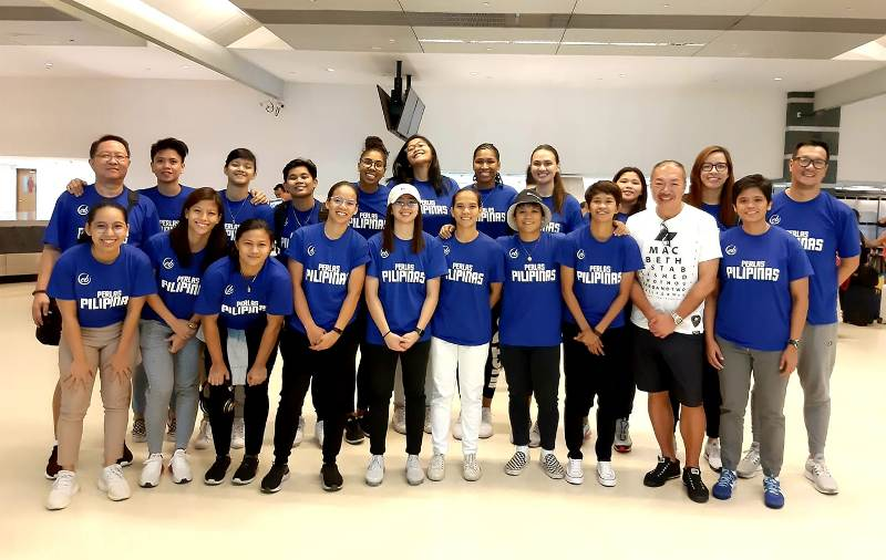 Perlas Pilipinas in Taiwan to beef up for FIBA Asia, SEA Games