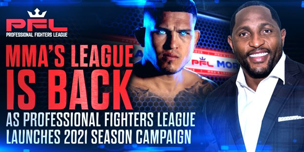 Professional Fighters League starts campaigning 2021 Season