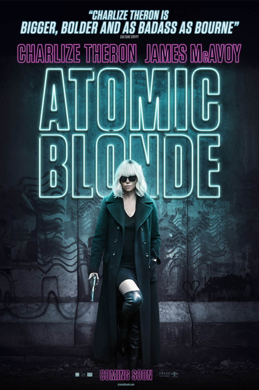 'Atomic Blonde': Charlize Theron stars in Hyperkinetic Action Film