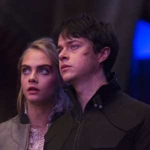 Cara Delevingne & Dane Dehaan in VALERIAN movie