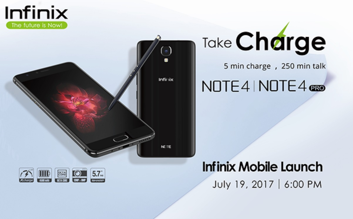 Infinix Mobility introduces the new Infinix Note 4, Note 4 Pro with 'Xpen' in PH