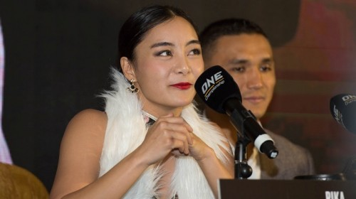 Rika Ishige proud to inspire many women in Thailand to become MMA fighters | ONE Championship photo