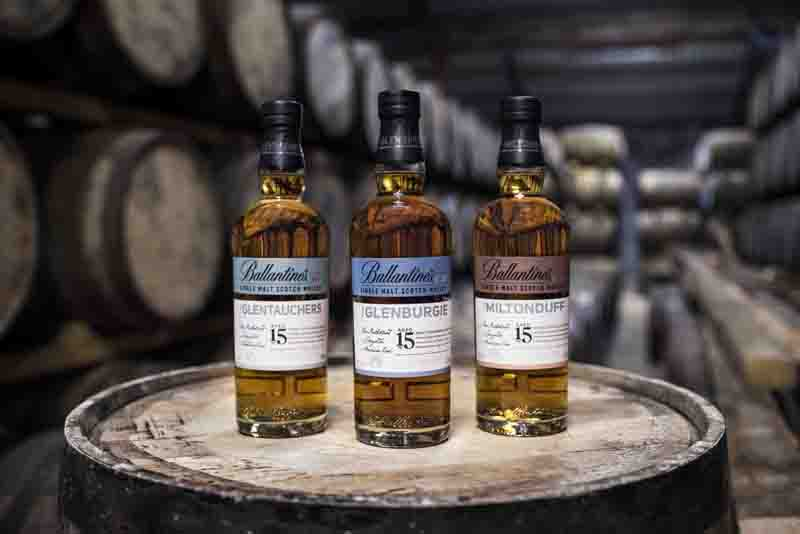 Ballantine's launches 15-year-old Single Malt series