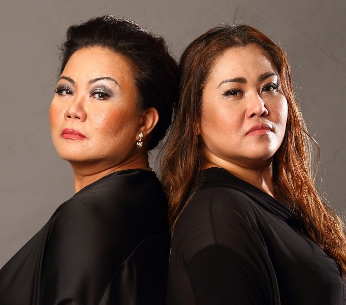 Powerhouse performers Dulce (left) and Ima Castro lead the amazing cast of 'Maynila... Sa Mga Kuko Ng Liwanag' The Musical (contributed photo)
