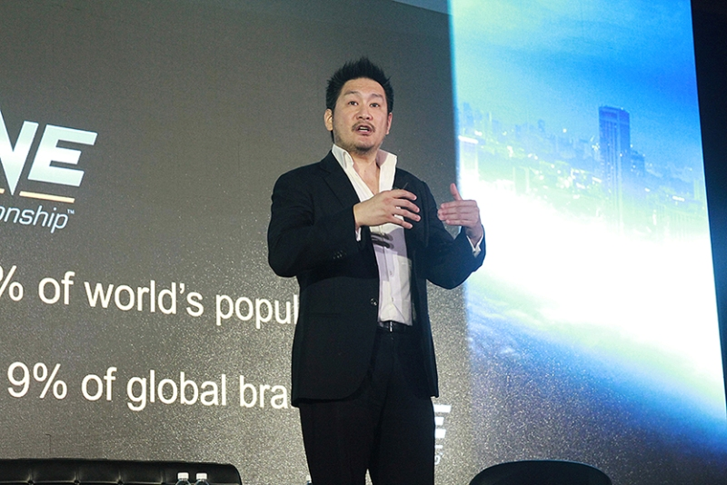 ONE Championship chairman Chatri Sityodtong (contributed photo)