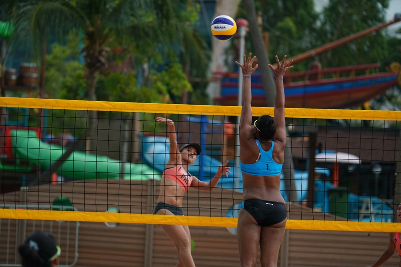 29th SEA Beach Volleyball: Thais lose title to Indons in exhilarating final