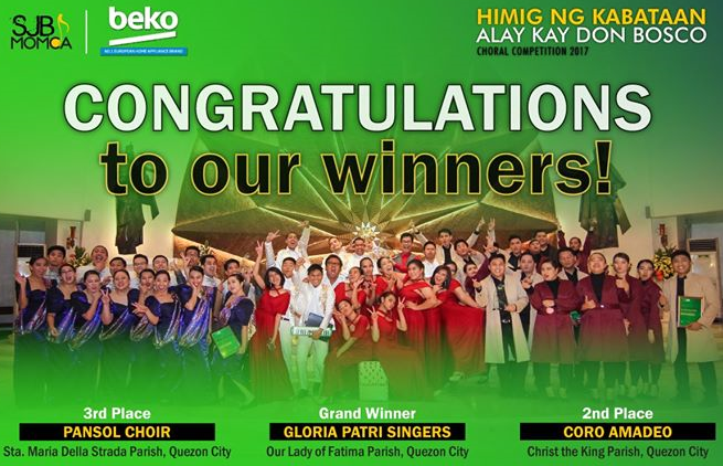 BEKO sponsors choral competition