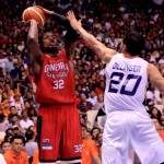 Justin Brownlee or anyone from Barangay Ginebra could make another key shot like last season push Ginebra to the title (photo by Peter Paul Baltazar)