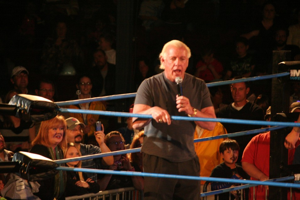 Ric Flair (photo by Mike Kalasnikc/ Flickr)