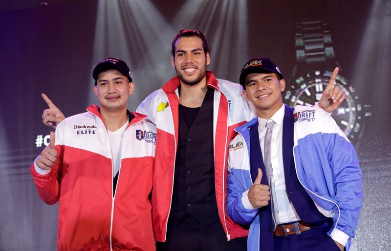 TOP 3: Raymar Jose, Christian Standhardinger and Kiefer Ravena. (Photo from PBA Images)