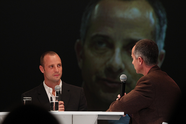 Oscar Pistorius (photo by Global Sports Forum/ Flickr0