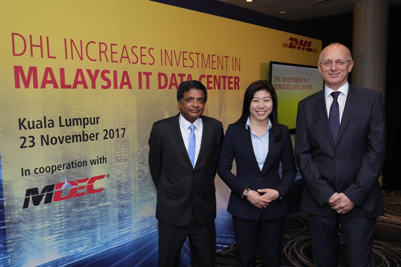 DHL to invest further RM 1.5 billion in IT Services Data Center