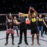 Aung La N Sang vs Alain Ngalani (ONE Championship photo)