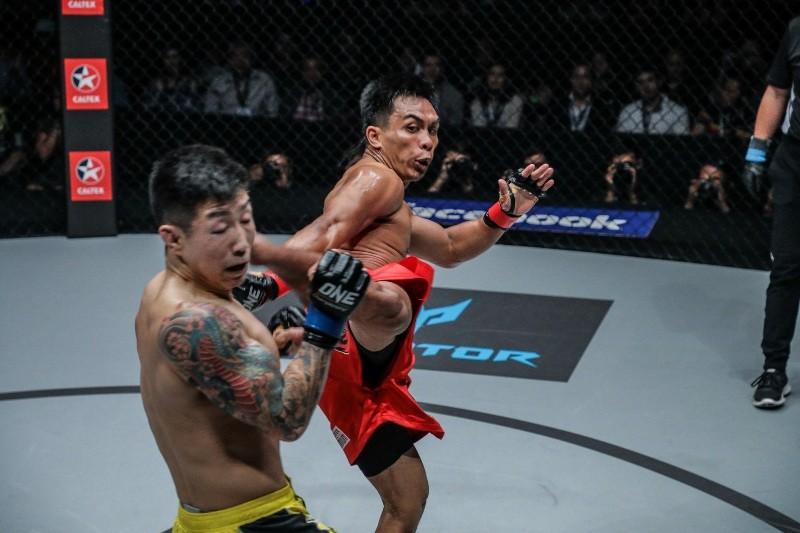 Kevin Belingon vs Kevin Chung (ONE Championship photo)