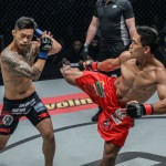 Eduard Folayang vs Martin Nguyen (ONE Championship photo)