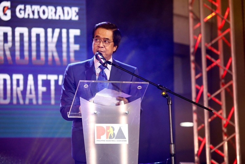 PBA Commissioner Chito Narvasa (photo from PBA Media Bureau)