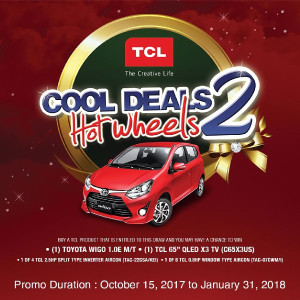 TCL Cool Deals Hot Wheels 2: Win a brand new car