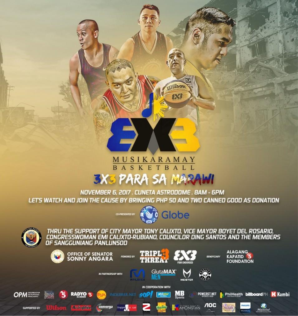 Musikaramay Basketball: 3x3 Para Sa Marawi