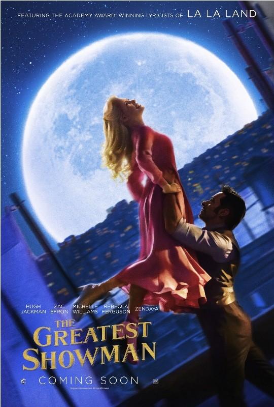MICHELLE WILLIAMS & HUGH JACKMAN (The Greatest Showman movie)