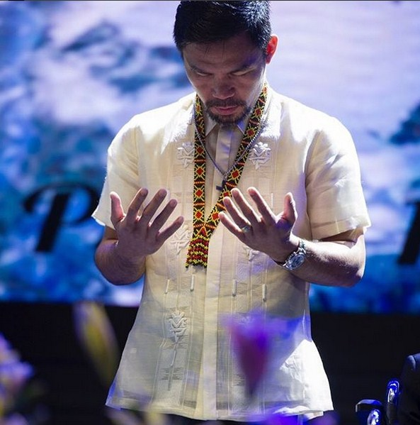 Pacquiao finally realizes the dirty game of politics, will he quit?
