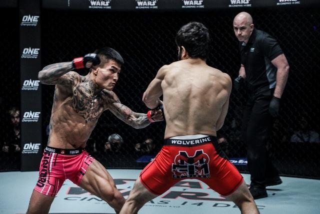 Li Kai Wen vs Ahmed Mujtaba (ONE Championship photo)