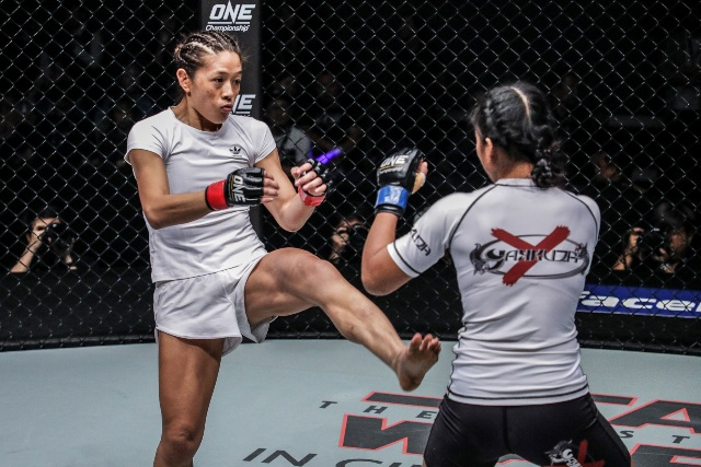May Ooi vs Vy Srey Khouch (ONE Championship photo)