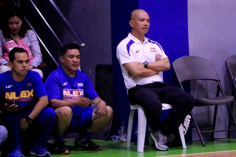 NLEX Head Coach Yeng Guiao (photo by Peter Paul Baltazar)