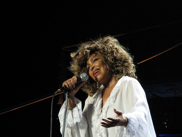 Tina Turner (photo by Philip Spittle/ Flickr)