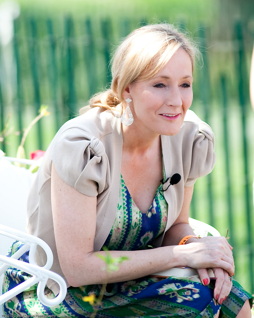 JK Rowling proud to receive royal honor