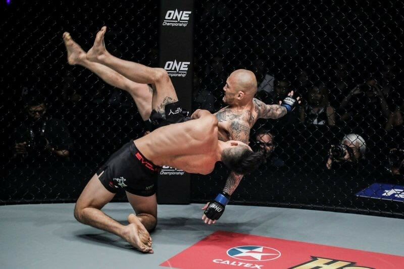Christian Lee vs Kotetsu Boku (ONE Championship photo)