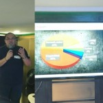 Jeff Castillo regional director for Fortinet Philippines and Nap Castillo, regional pre-sales consultant for ‎Fortinet during the threat prediction media briefing.
