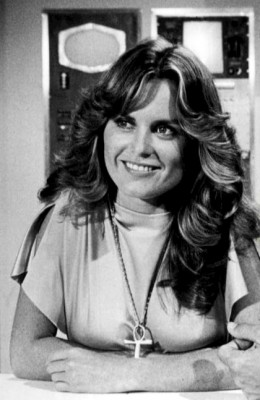 Heather Menzies (photo extracted from another file: Heather Menzies Gregory Harrison Logan's Run 1977.   Commons Wikimedia)