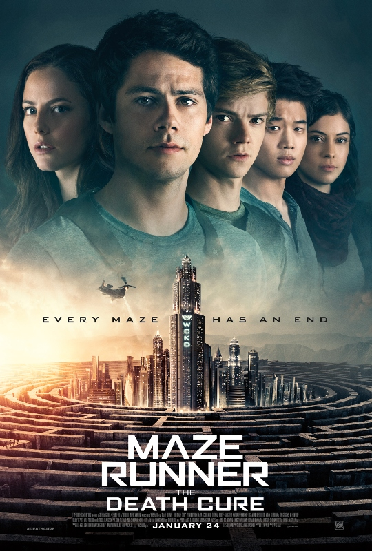 LOOK: 'Maze Runner: The Death Cure' poster revealed