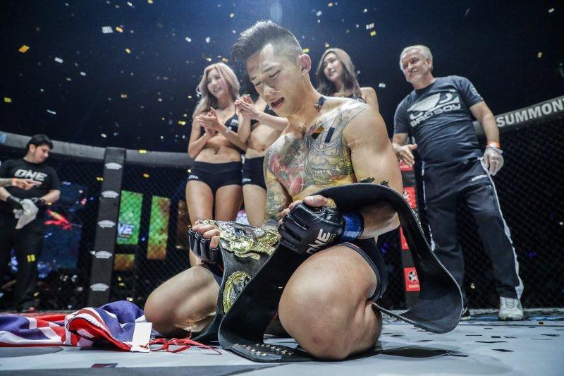 Martin Nguyen (ONE Championship photo)
