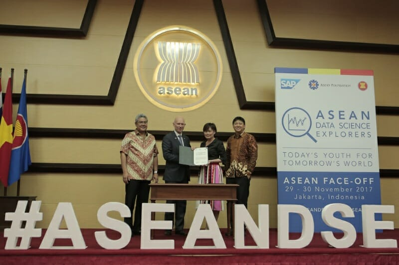 The ASEAN Foundation and SAP collaborate for positive social impact on Digital Economy