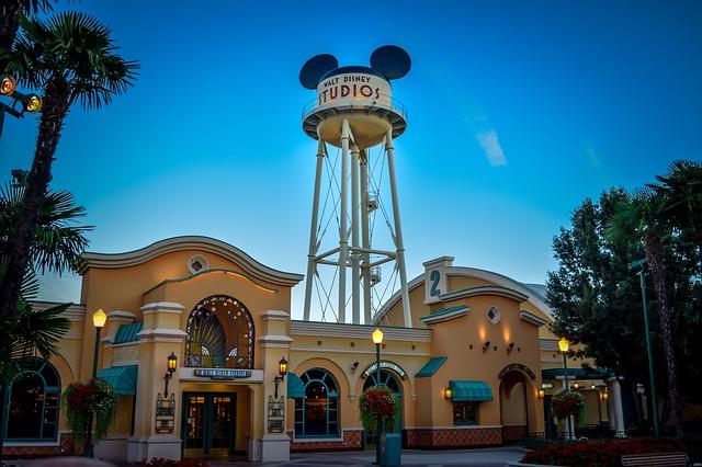 Walt Disney Studios (Pixabay)