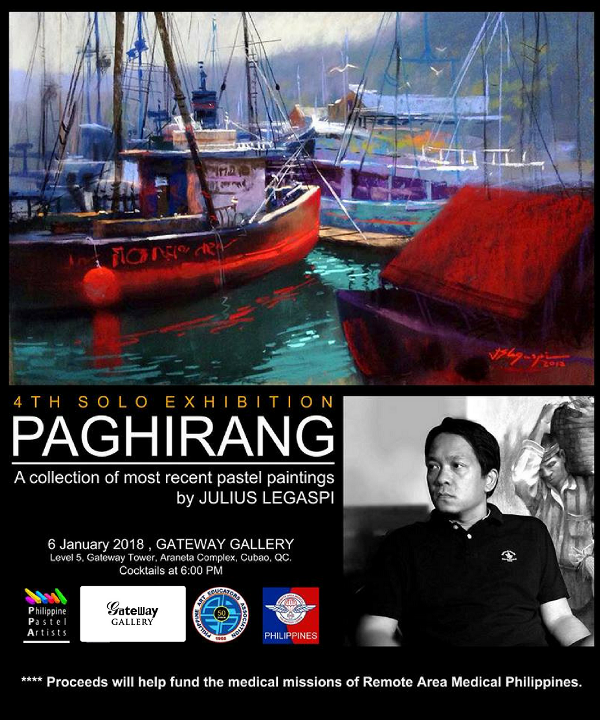 Gateway Gallery opens 2018 with an exhibit by Julius Legaspi