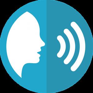 Alexa, speech icon (Pixabay)