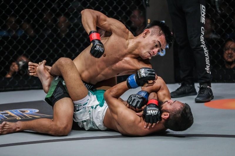 Stefer Rahardian vs Muhammad Imran (ONE Championship photo)