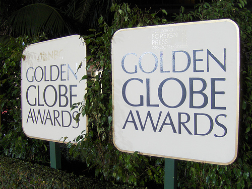 Draped in black, Golden Globes will try on a new look
