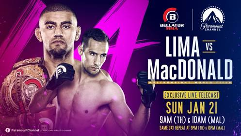 Paramount Channel is Home to Bellator MMA