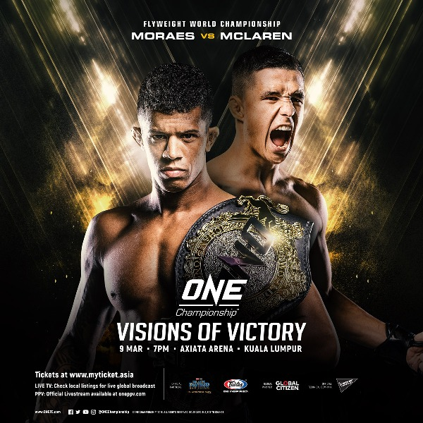 'ONE: Visions Of Victory' Latest News and Updates: Full Card for March 9 Revealed
