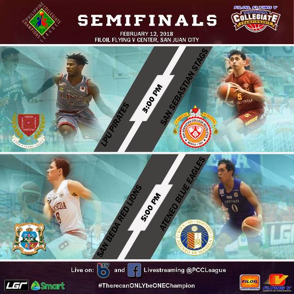 PCCL 2018 Semifinals (photo from PCCL Facebook)