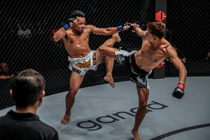 Phoe Thaw vs Sor Sey (ONE Championship photo)